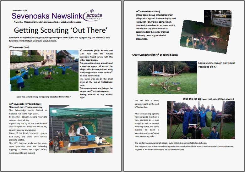 November Newslink Out Now