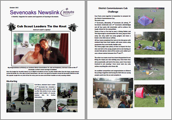 October Newslink out now